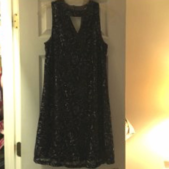 Maurices Dresses & Skirts - Maurice's Navy Metallic Dress